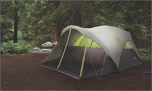 Coleman Steel Creek tent for dog owners