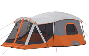 Core has a fantastic cabin tent that also has a large porch area