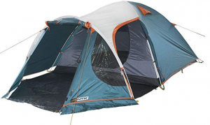 A small tent with a porch are from NKT, suitable for small groups