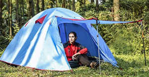 Weanas Professional Backpacking Tent with a porch