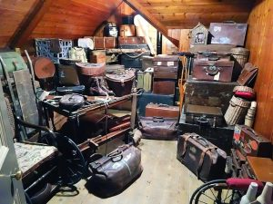 equipment not stored properly