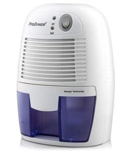 probreeze electric dehumidifier to combat tent condensation