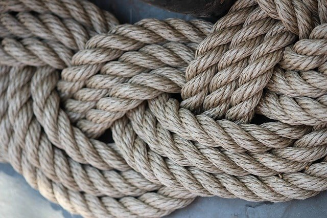 ropes for campsite emergency