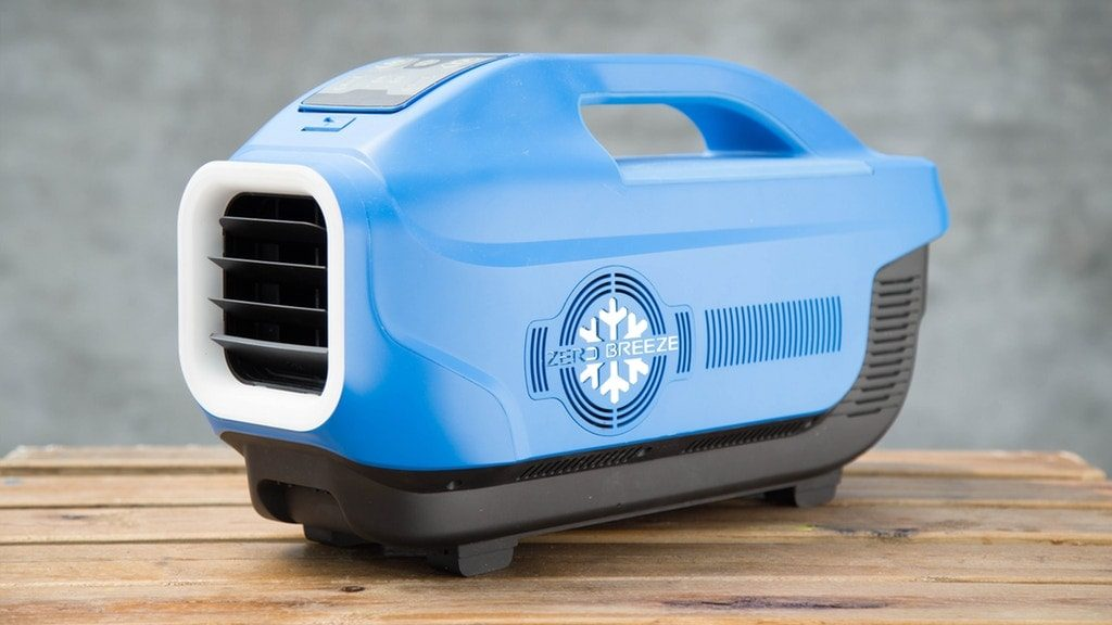the Zero Breeze camping air conditioner