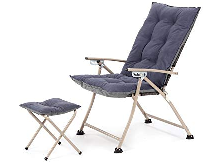 Reclining Camping Chairs With Footrest