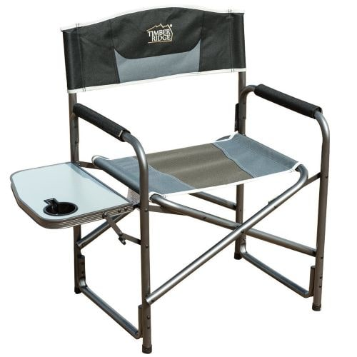 Budget choice for a portable, folding directors chair suitable for camping