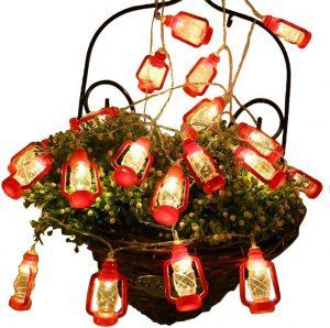 AceList 30 LED Red Lantern