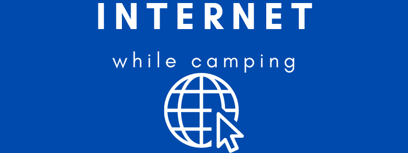 Get internet while camping header image