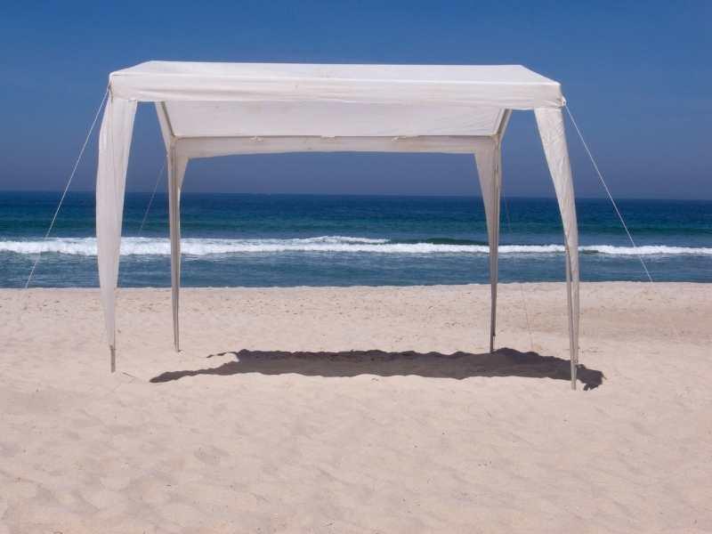 canopy type beach tent